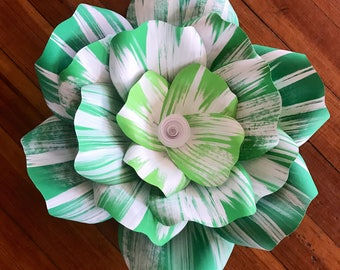 """SHADED Large paper flower, Giant paper flower, big paper flower for any occasion ore wall decal """"ARIA"""""""