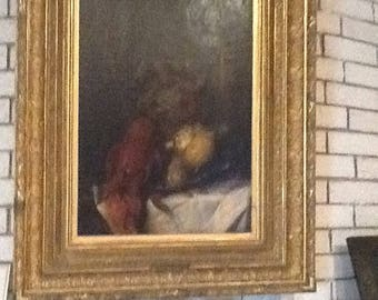 Antique oil painting from Sweden(Dutch) 1700's