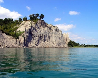 Scarborough Bluffs, Bluffer's Park, Scarborough, Toronto, scenery photograph, wall art, home office decor, Lake Ontario, gift 20