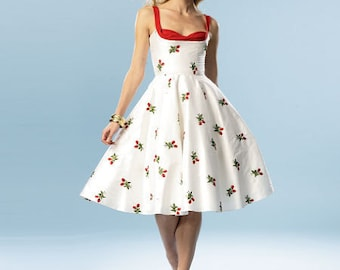 Butterick Pattern 5882-Pin up Girl Dress, Bettie Page Style Dress,50's dress-Plus Size