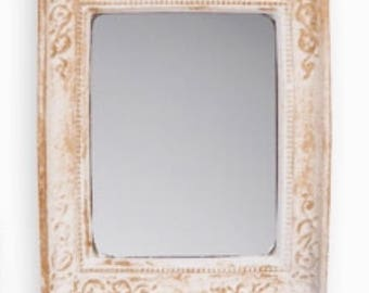 Dollhouse Miniature Rectangle Framed Mirror