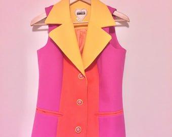 Vintage Womens blazer/waistcoat size 10