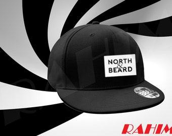 OHTIB north and beard logo, Snapback, Baseball cap