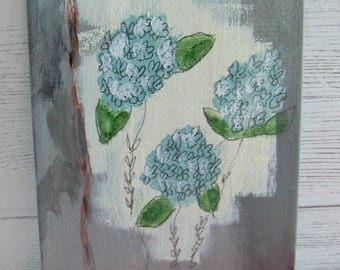 Original Paintings, Amy Mosher Designs, Hydrangea Painting, Acrylic Paintings, Shabby and Chic Paintings, Abstract Paintings, Artwork, Art