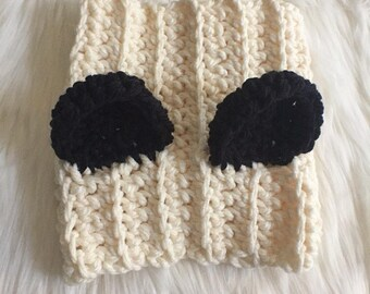 Panda Cowl for Dogs