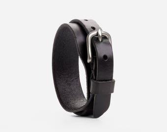 Double Leather Bracelet PDF Pattern