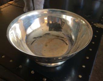 Sheridan Silver Plate Revere Bowl