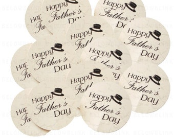 20 Happy Father's Day tags - No1065