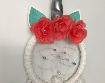 Ashley Unicorn Dream Catcher