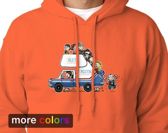 ARRESTED DEVELOPMENT Bluth Company Adult Hoodie, Buster Michael Tobias Gob Hooded Sweatshirt