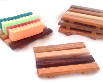 1 single reclaimed wood soap dishes - 2.59 each - Handmade in Portland, OR USA