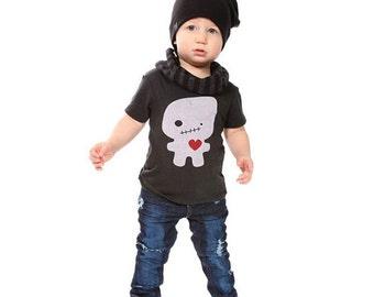 Black Foodoo Love Baby Toddler Kid T-Shirt - Organic Triblend ON SALE