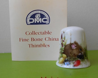 From DMC collection porcelain