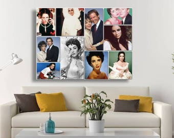 Personalized Picture Collage/ Wedding Collage/ Family Photo Collage/ Collage on Canvas/ Collage Art/  Collage Photo on canvas