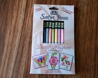 DMC Satin Floss Pastel Whispers  Collection Pack , Embroidery Floss - BB6