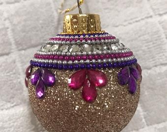 Embellished Christmas Ornament