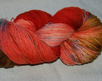 handdyed Yarn, 100g/ 3,5oz , colour 104