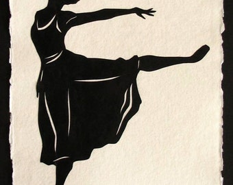 MARGOT FONTEYN Papercut - Hand-Cut Silhouette