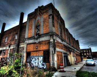 Abandoned Theatre - Detroit