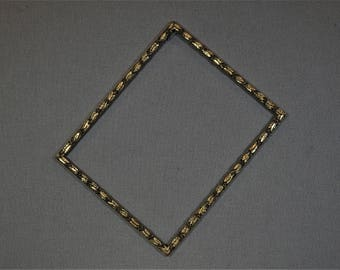 12x15 Frame Gold Ornate with Optional Glass and Custom Cut Matting