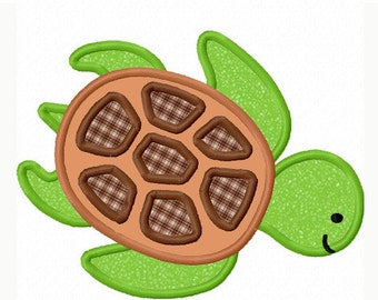 sea turtle Applique Machine Embroidery Design NO:0032