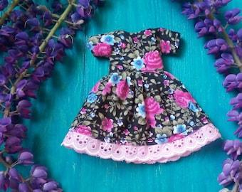 Blythe Dress, Blythe Clothing, Blythe Clothes, Blythe Outfit, Blythe Fashion, Blythe, Blythe Doll, Custom Blythe Doll, Icy Doll