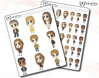 Hart of Dixie Stickers