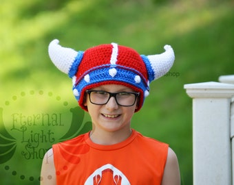 ALL SIZES/COLORS Independence Day 4th of July America Lael Viking Beanie