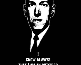 H.P. Lovecraft Outsider Tee