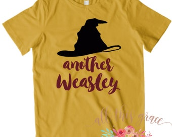 Another Weasley Tee - Harry Potter Toddler Clothes - Harry Potter Shirt - Harry Potter Toddler Tee - Harry Potter Toddler Shirt Hipster Tee