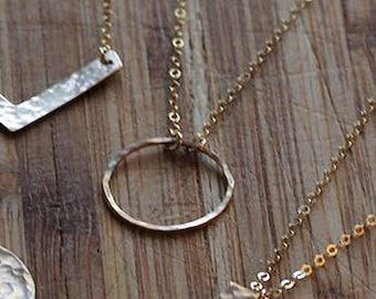 Highball Halo Necklace