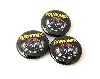 Ramones 1 inch pinback button or magnet