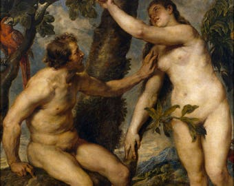 Poster, Many Sizes Available; Adam And Eve By Peter Paul Rubens