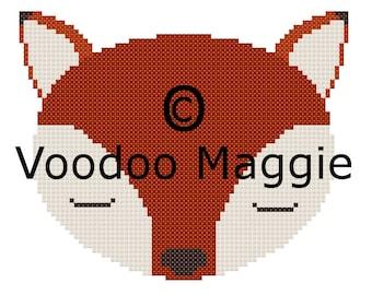 Woodland Fox Cross stitch pattern