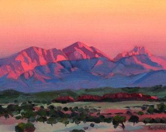 Morning Glow Mt Sonder Central Australia