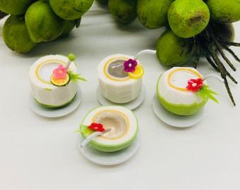 Miniature Coconut Juice, Miniature Beverage,Miniature fruit