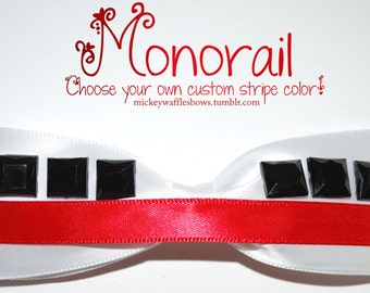 Disney Monorail Hair Bow