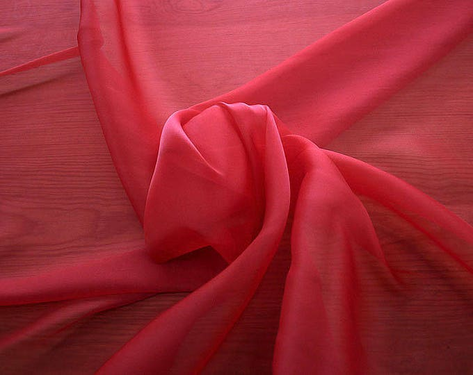 232103-organdy Cangiante Natural Silk 100%, 135 cm wide, made in Italy, dry cleaning, weight 55 gr, price 1 meter: 55.24 Euros