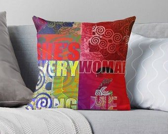 Throw Pillows - COVER ONLY - She's Everything - Every Woman 2 Me