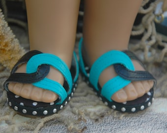 American, Made, girl, doll, sandals, doll shoes, 18 inch doll shoes, doll clothes