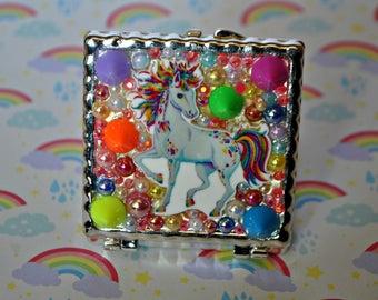 Rainbow Pony Mirror