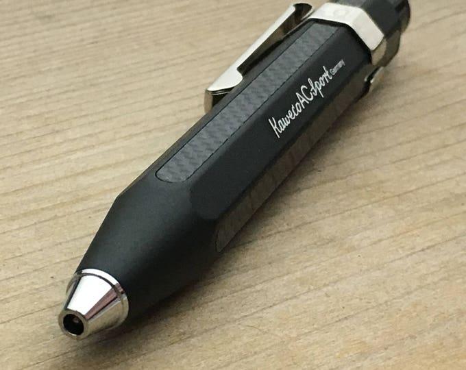 Ballpoint Pen Kaweco Sport /  Aluminium - Carbono