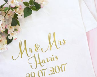 Wedding Table Runner - Personalised Wedding Table Runner - Table Runner Wedding