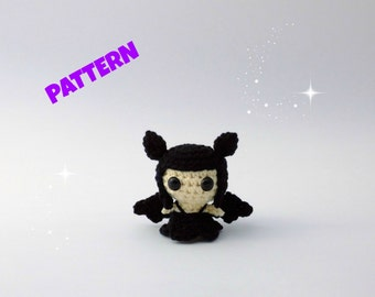 Amigurumi Bat Girl Pattern, Crochet Doll Pattern, Amigurumi Doll Pattern, Crochet Doll Pattern, Crochet Amigurumi Pattern, Amigurumi Pattern
