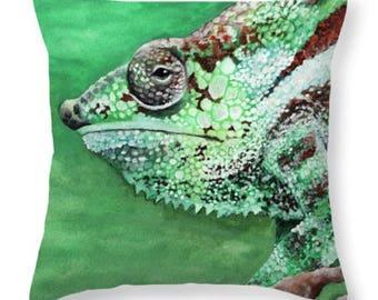 Chameleon Pillow