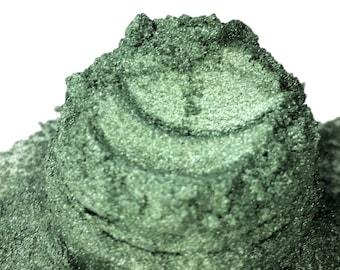 Barracuda Sage Green  Mineral Eye Shadow 5g Sifter Jar Gray eyeshadow Vegan Natural mineral Mica Makeup