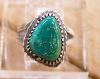 Vintage Turquoise Ring Size 7