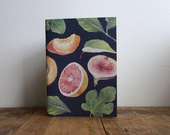 Hand-bound A5 Sketchbook - Midnight