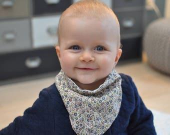 liberty anti bavouilles bandana bib for baby