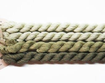 Silk & Ivory Thread 4.95 Each, Brown Paper Packages Silk And Ivory, Silk Threads, Yarns, Wool Threads, Silk  Ivory Yarn, Merino Wool, Taupes